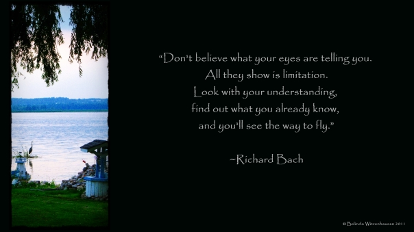 Wallpaper Richard Bach Quote