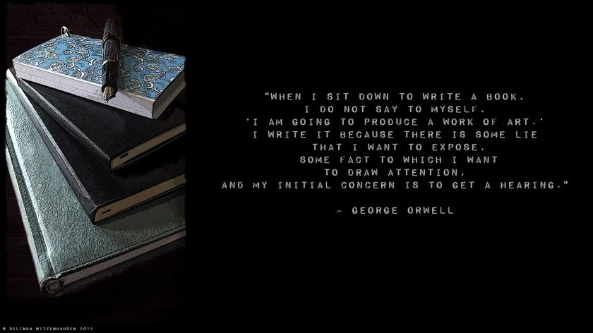 Orwell Wallpaper