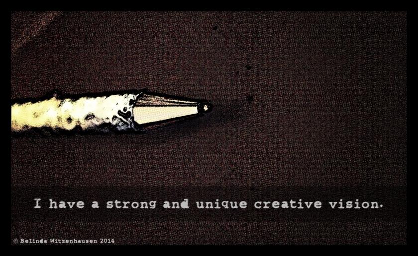 Creativity Affirmation card