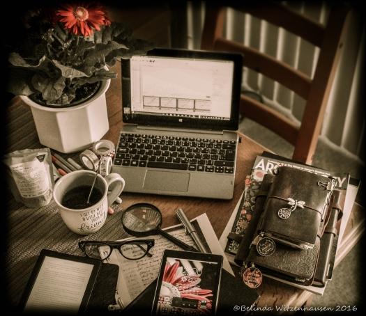 Bella's Desk